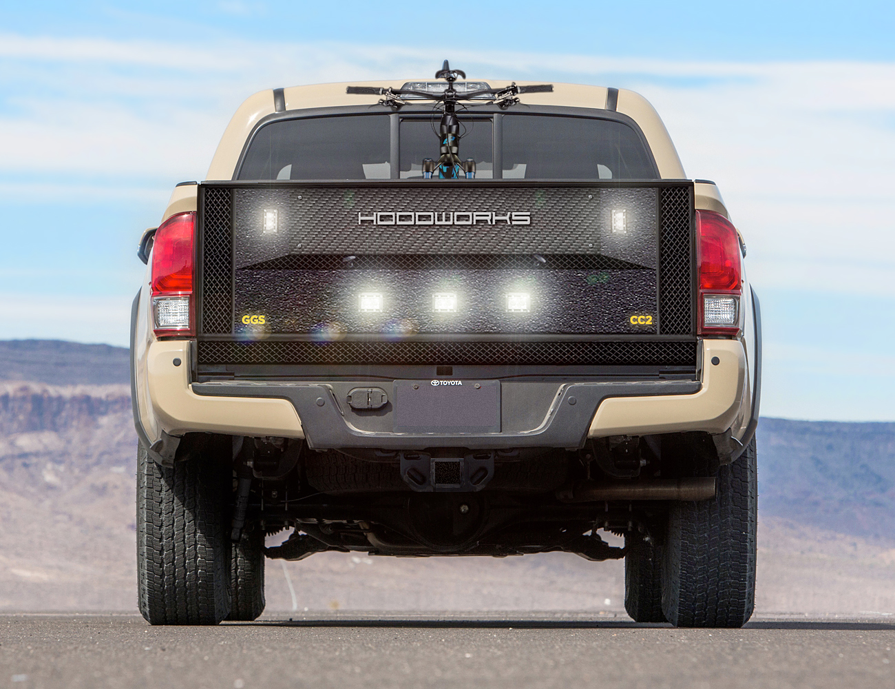 Hoodworks Launches Geargate For Toyota Tacoma Hoodworks